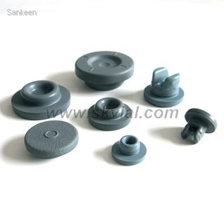 Teflon and PET Coated Rubber Stoppers